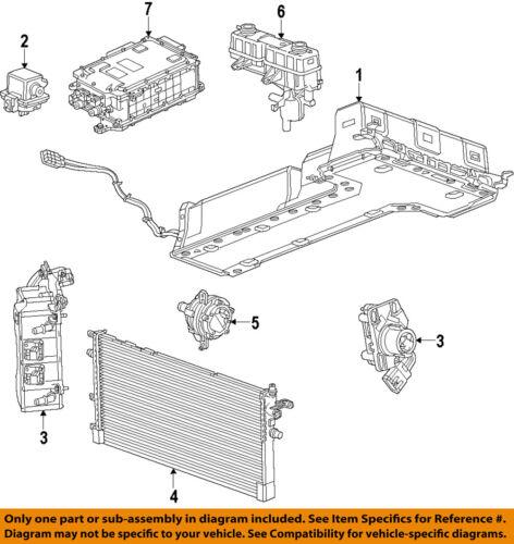 GM OEM Cooling System-Radiator 22765637