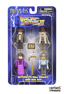 Back to the Future Minimates Return to Hill Valley 1885 Seamus McFly