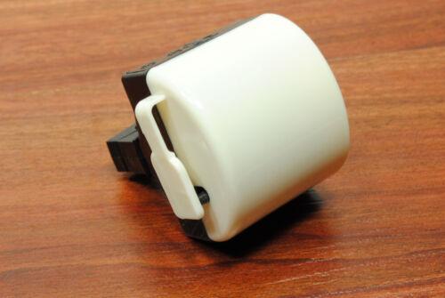 White Electrical Bike Bicycle Handlebar Buzzer//Horn//Bell
