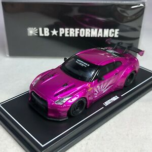 1-64-MINI-GT-R-LB-WORKS-Nissan-GT-R-R35-GT-Wing-Flash-Pink-Ltd-500-pcs