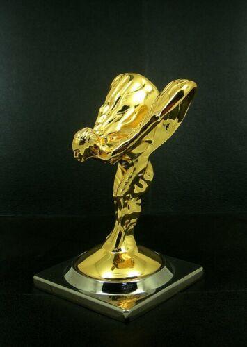 -01 Mascot Rolls-Royce Fabulous hood Ornament Mascot Metal Model gold