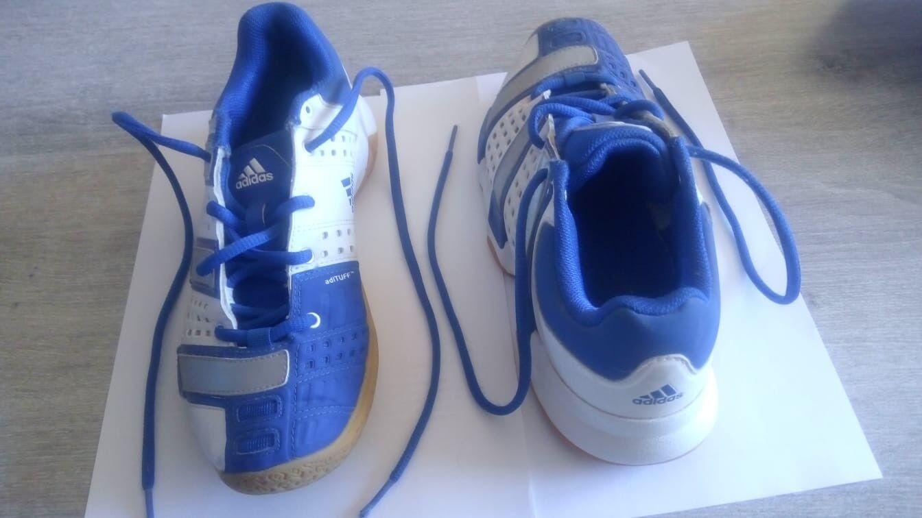 basket adidas semelles bleues blanches avec semelles adidas pour gymnase ou pour l'extérieur 38 007ff8