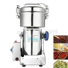 Electric Herb Grain Grinder Cereal Mill Flour Coffee Wheat Food  Machine 1000g