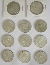 Lot (Konvolut) 11  Silbermünzen aus Polen a 200 Zloty 1974