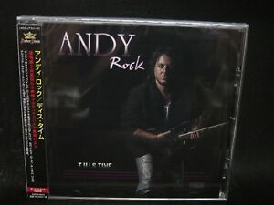 ANDY ROCK This Time + 2 JAPAN CD Wild Rose Push Melodious Hard Rock !