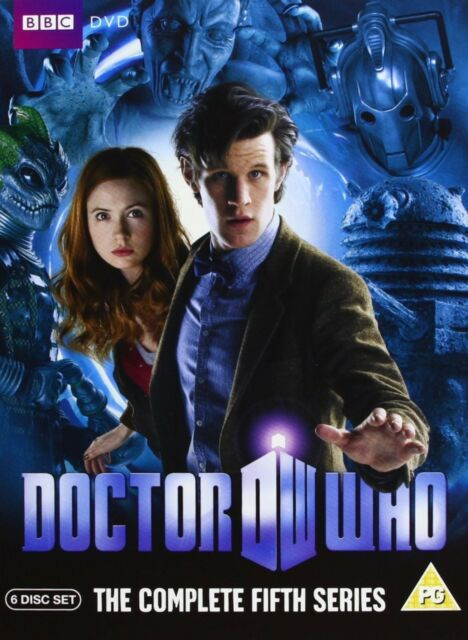 Doctor Who - The Complete Series 5 Matthew Smith, Karen Gillan New Region 2 DVD