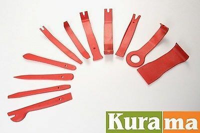 11pc Pry Tool For Car Door Trim Panel Molding Clip Retainer Removal - SALE