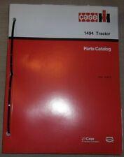 Case 1494 Tractor Parts Manual Book Catalog