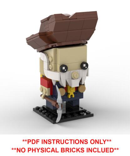 Lego Brickheadz Stinky Pete Toy Story 2 Custom MOC PDF INSTRUCTIONS ONLY