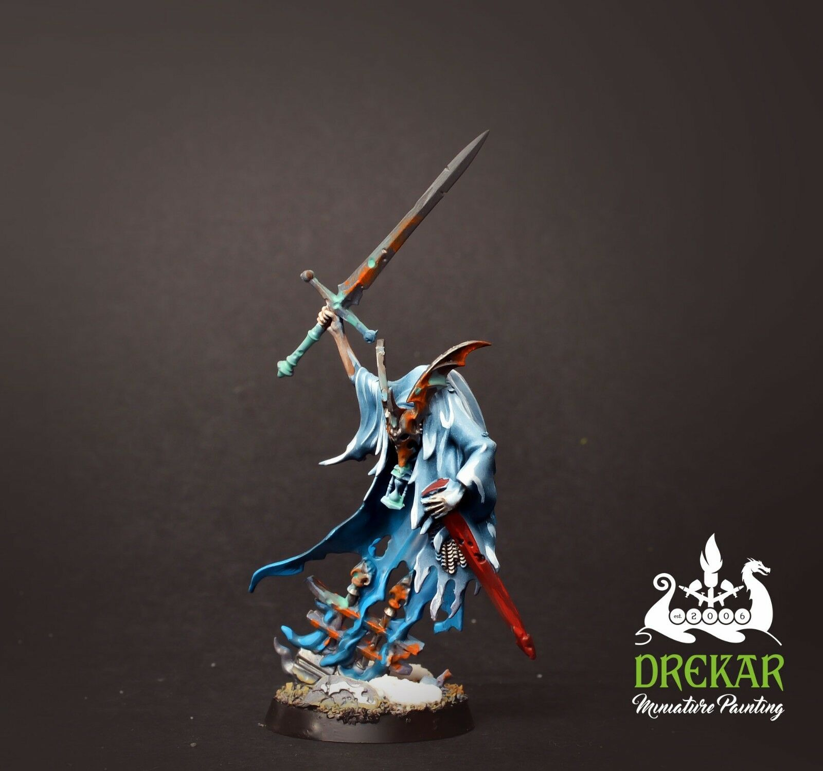 Keldrek Knight of Shrouds nighthaunt age of sigmar  COMMISSION  pro painting