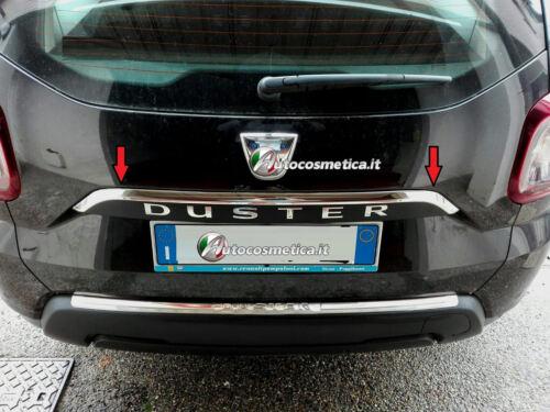 Modanatura Contorno Maniglione Portabagagli in acciaio cromo Dacia Duster 18/>