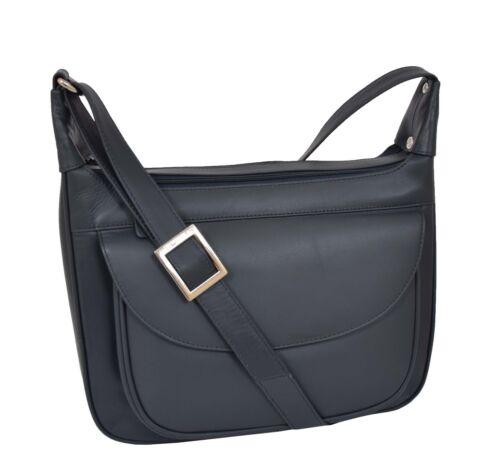 Day Genuine Messenger Handbag Navy Leather Bag Womens Classic Shoulder Casual LqzVSUGMp