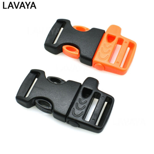 Emergency Side Release Whistle Buckles For Paracord Bracelet 15mm 5//8/""