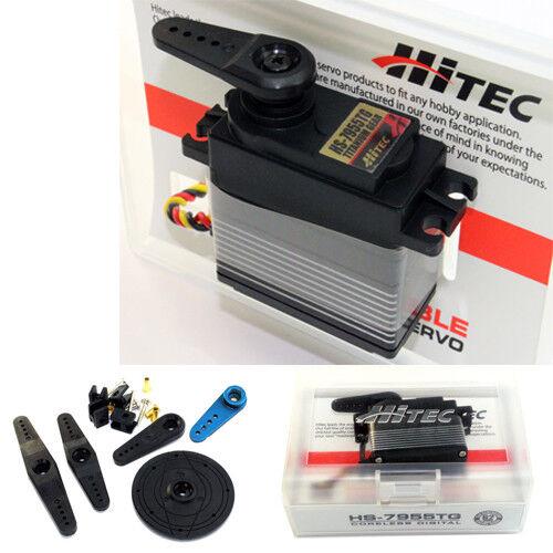 Hitec HS-7955TG High Torque Titanium Gear Coreless Servo