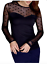 NEW-Ladies-M-amp-S-Black-Thermal-Spotted-Long-Sleeved-Vest-Top-in-UK-Sizes-8-14 thumbnail 1