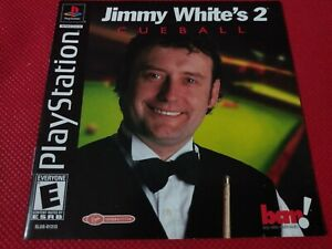 Jimmy-White-039-s-Cueball-2-Playstation-Instruction-Booklet-Game-Manual-FREE
