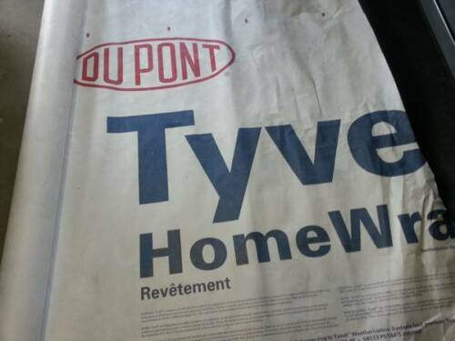 5/' X 8/' Tyvek Homewrap Cover Ground Sheet Fabric Tent Tarp Footprint Kite Bags