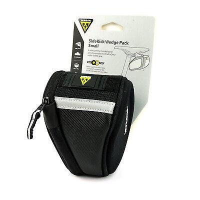 TOPEAK SIDEKICK WEDGE SMALL BLACK BICYCLE SEAT SADDLE BAG