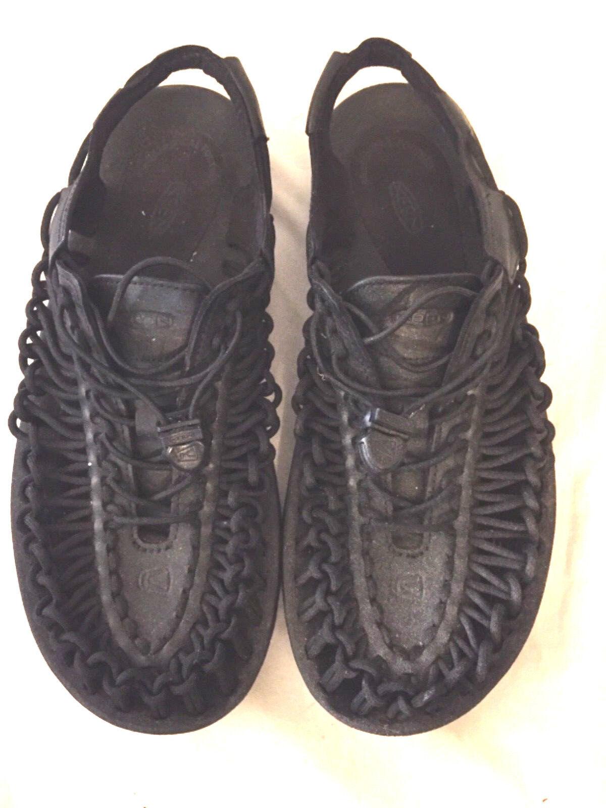 KEEN'S Women's shoes BLACK size 10