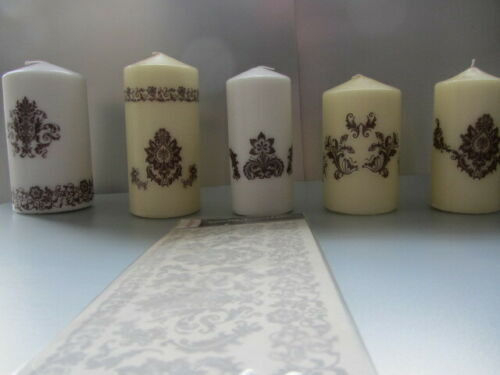 Candle Transfers Bronze SC038 Crafting and Home Decore