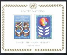 UN (NY)/United Nations 1980 Flags/35th Anniversary/Animation impf m/s (n39016)