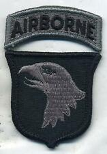 US Army 101st Airborne Division ACU Patch W/Tab