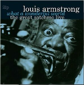 Louis-Armstrong-What-a-Wonderful-World-The-Great-Satchmo-Live-New-Vinyl-Holl