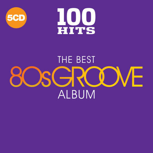 Various Artist 100 Hits: The Best 80s Groove Album  5 CD NEW sealed