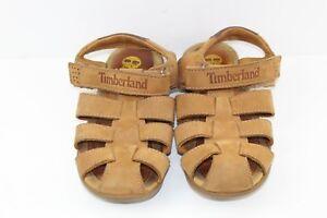Kids-Timberland-Brown-Sandals-size-Uk-4-5