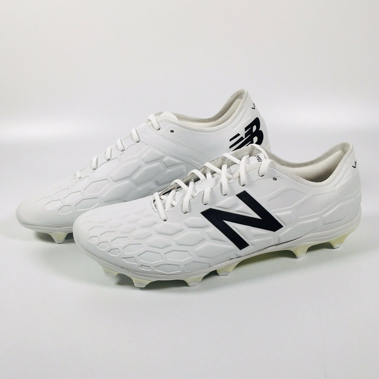 New Balance Visaro 2.0 Pro FG Football Stiefel Größe UK 11.5 Weiß- NEW