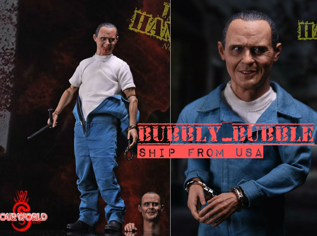 1 6 The Silence of The Lambs Dr. Hannibal Figure Full Set 2.0 SHIP FROM USA