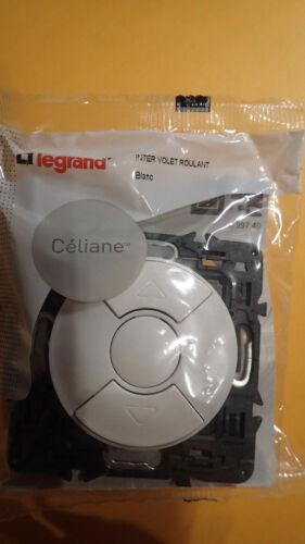 Legrand CELIANE 99740 Vente à L/'unité Interrupteur Volet Roulant VR BLANC