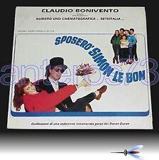 "OST ""SPOSERO' SIMON LE BON"" RARE LP ITALY SEALED - DURAN DURAN"