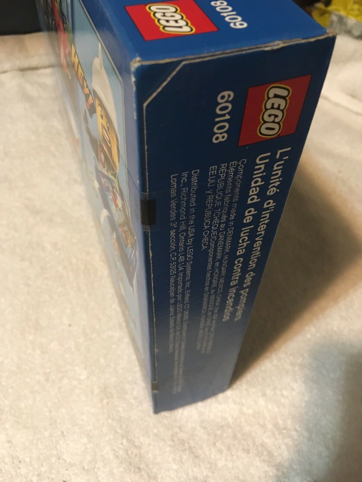 LEGO 60108 City   Fire Response Response Response Unit  Helicopter  Motorcycle  New Sealed 9bd3c5