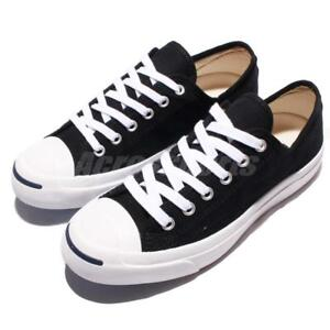 Converse Jack Purcell CP OX JP Black Canvas Classic Men Shoes ... 3c433fcee