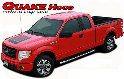 Force Hood Factory Style Screen Print Decal Stripe Graphic 2008-2014 Ford F-150