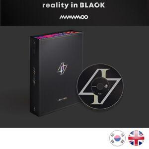 NEW-SEALED-MAMAMOO-Reality-in-Black-CD-2nd-Album-Kpop-K-pop-UK