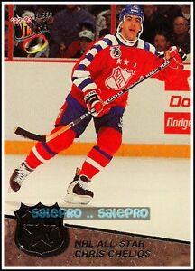 ULTRA-FLEER-1992-CHRIS-CHELIOS-NHL-ALL-STAR-MINT-INSERT-CARD-7-12