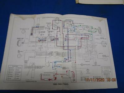 Original Harley-Davidson Wiring Diagram, 1980-1984 FXWG - Factory A369 |  eBay | Harley Davidson Wire Diagram 84 |  | eBay