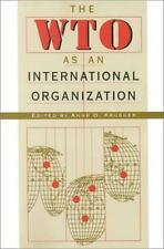 The WTO as an International Organization by Anne Krueger (2000, Paperback)