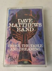 Dave Matthews Band - Under The Table And Dreaming Cassette Tape RCA