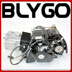 BT-125cc-Kick-Electric-Start-Semi-Auto-Engine-Motor-PIT-PRO-Trail-Dirt-Bike