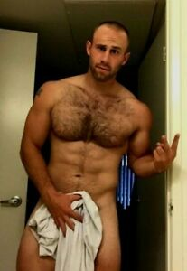Hunks with hairy chests
