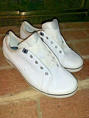 keds white leather sneakers athletic comfort casual shoes