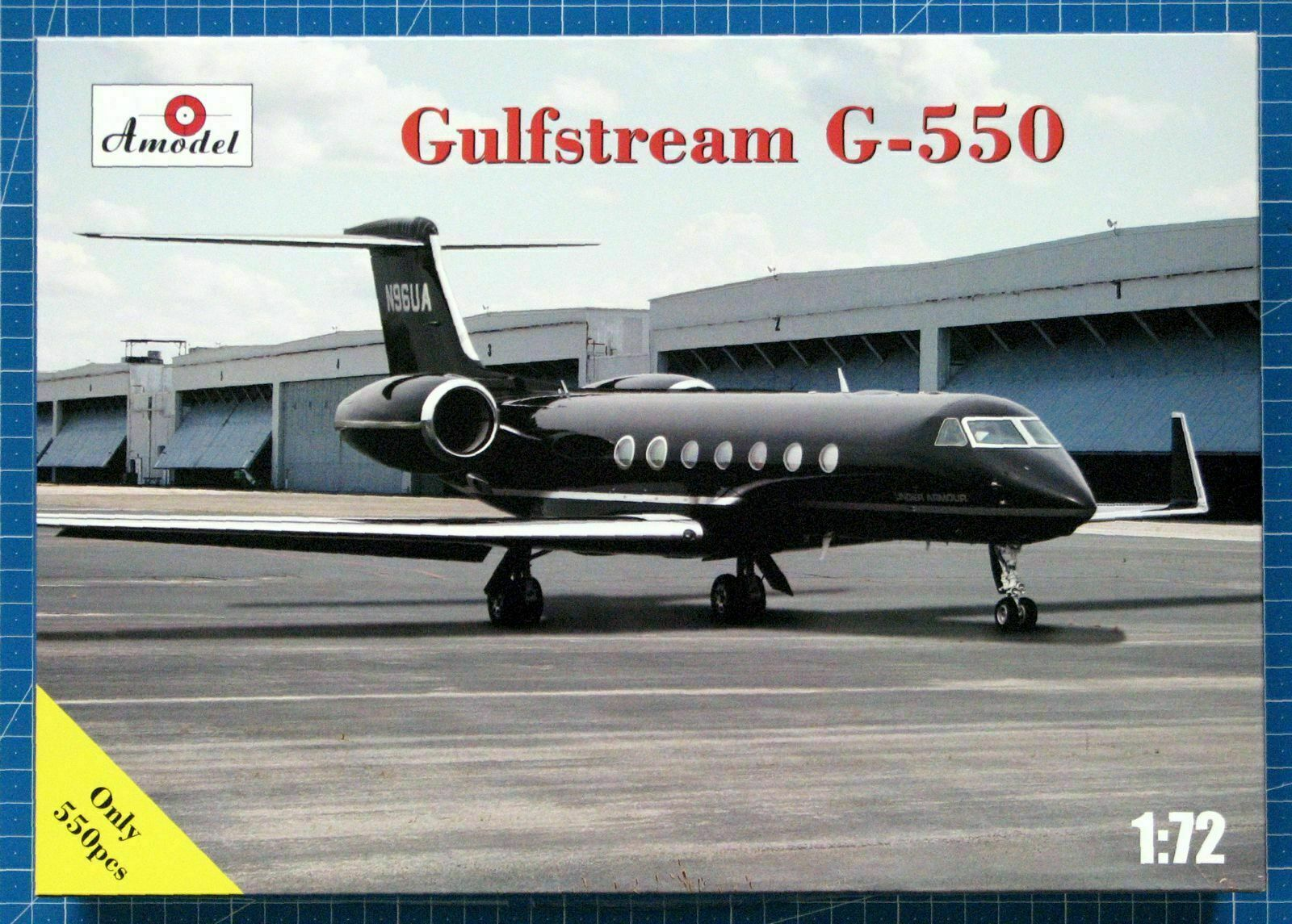 Amodel 72361 - 1 72 Gulfstream G-550 Business Class Airplane, scale model kit