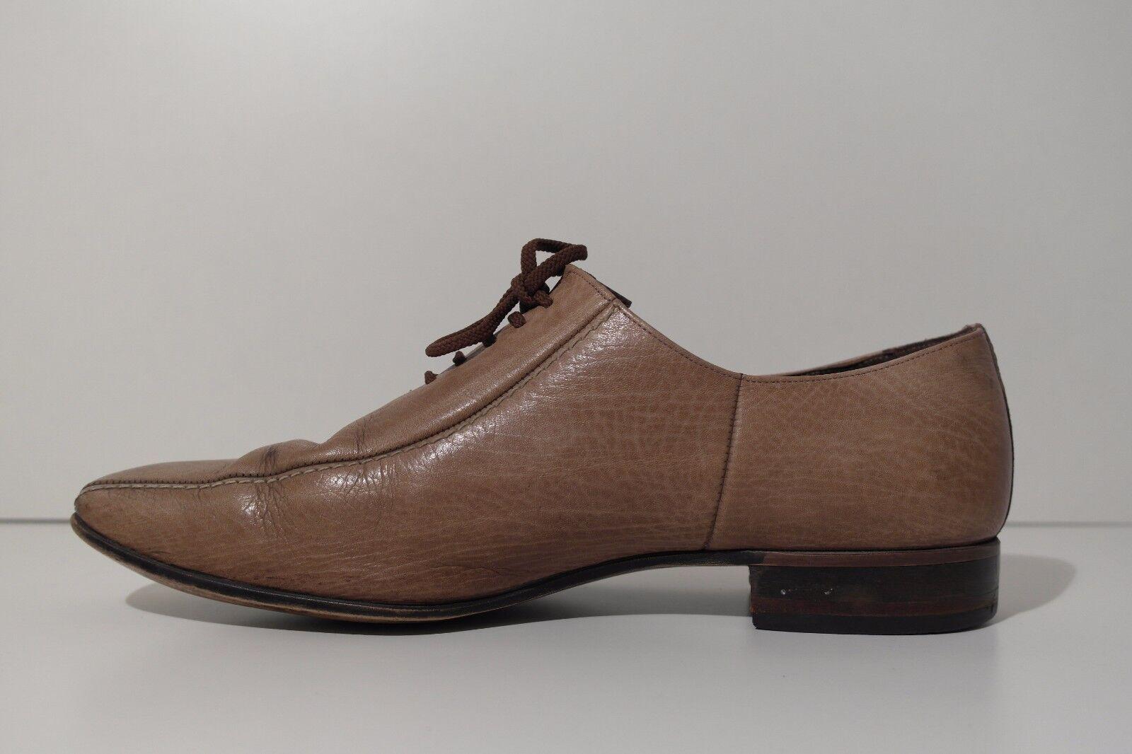 TRUE VINTAGE 70er Herren Schnürer UK UK UK 8 Schuhe Lace up braun Halbschuhe Loafer b97315