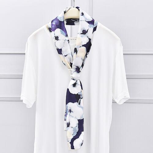 New 22 Colors Fashion Women/'s Chiffon Satin Colorful Long Shawl Scarves 145x17cm
