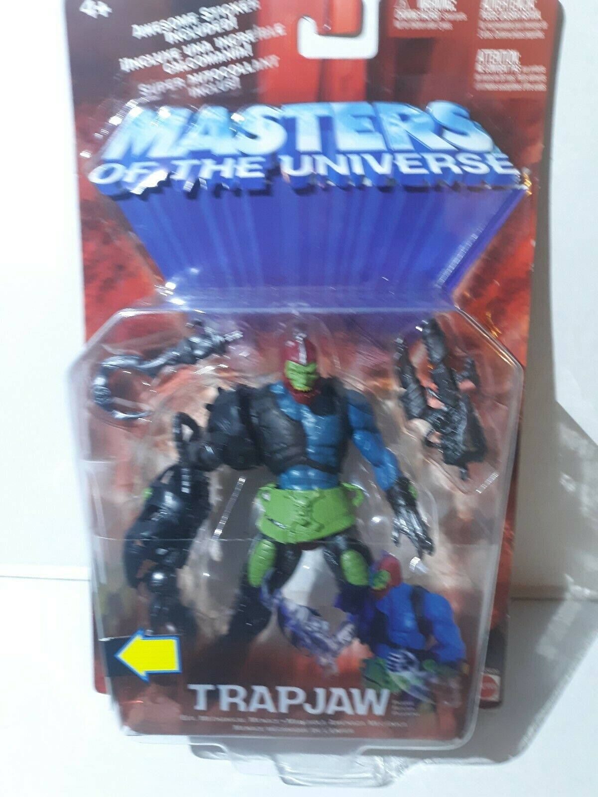 Masters of the universe 200x Chase TRAPJAW Variant