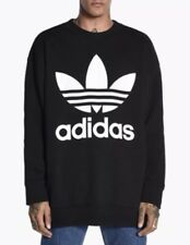 Details about NEW Adidas ADC F Crew Oversize Sweatshirt BQ1801 Men Size: L off whitecream