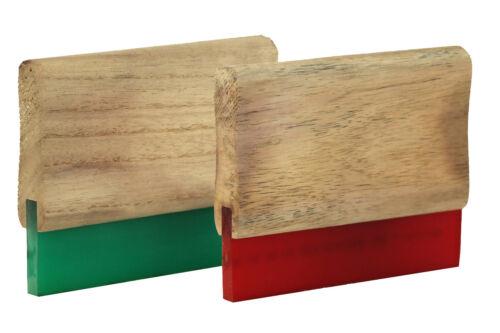 15cm Holz-Rakel in 65 70 75 Shore Siebdruckrakel Textildruck Holzrakel Siebdruck